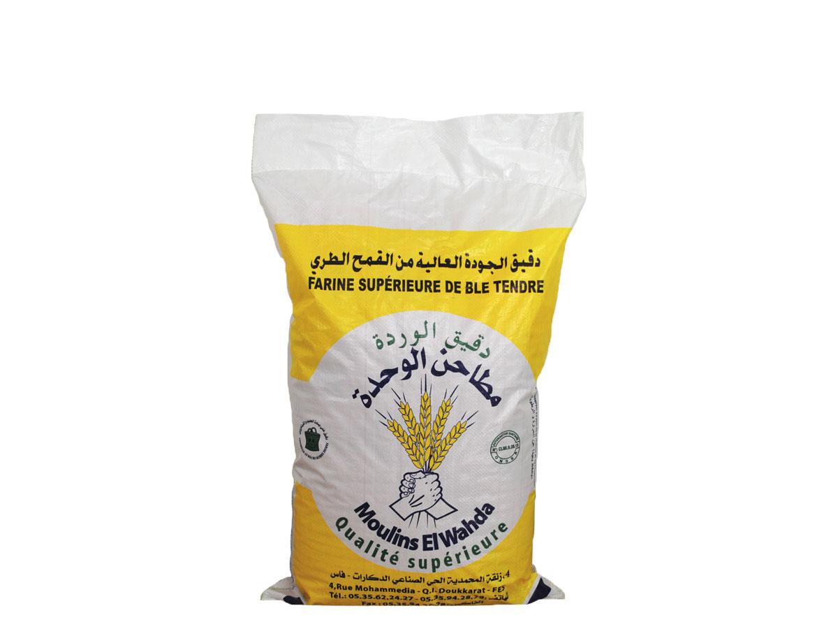 sac en polypropylène tissé laminé farine
