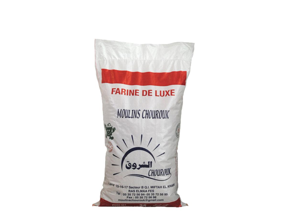 sac pp tissé laminé pour farine