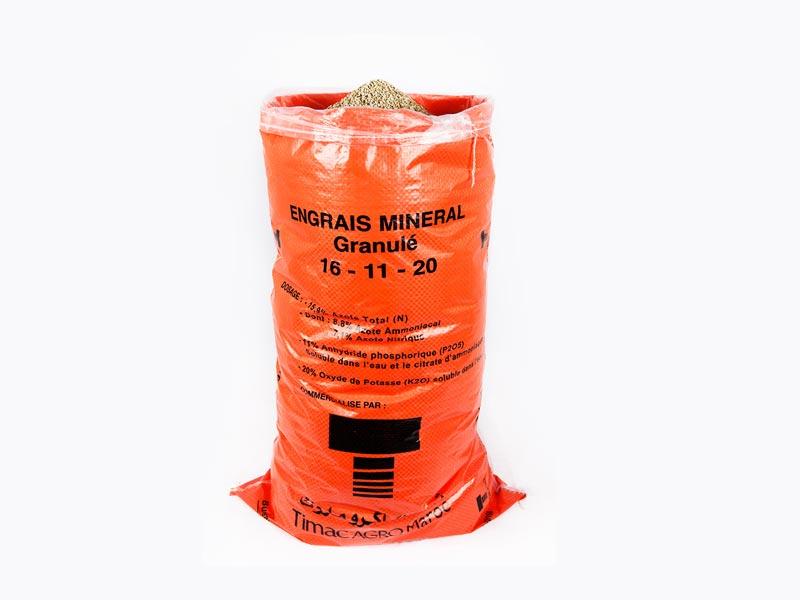 Usage Sac doublé en polypropylène et polyéthylène